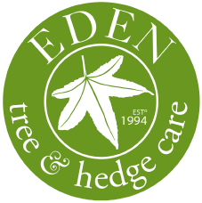 EDEN Tree & Hedge Care Logo